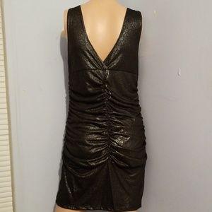 Dresses - 🎃NWOT METALLIC DRESS LARGE